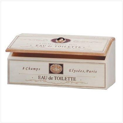 EAU DE TOILETTE BOX W/LID