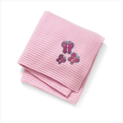 BUTTERFLY ACCORDIAN THROW