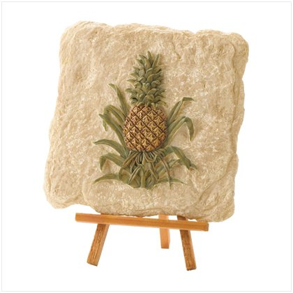 SET OF 2 PINEAPPLE W/STAND