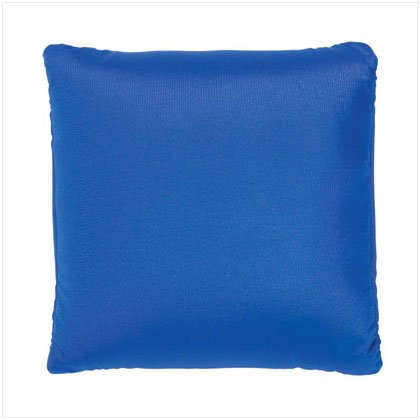 BLUE SQUARE SQUISHY PILLOW