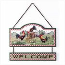 ROOSTER WELCOME SIGN