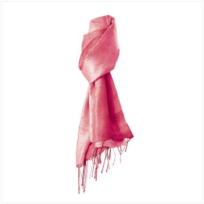 2 TONE MAUVE COLOR SILK SCARF