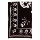 SKULLS PATTERN COTTON SHEET