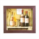 WINE THEME 3D PAPER WALL ART