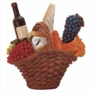 5 PC WINE SPREADERS/BASKET SET