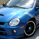 SRT-4 neon sxt fender stripe racing decals decal boost turbo