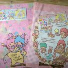 one set Little twin stars Angle Fairy bag for gift - pink Gingham