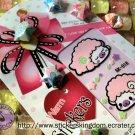 Aries baby sheep sticker Baby Pink Warm Sticker Kingdom