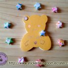 Happy Bear  Mini Notebook memo pad paper Note kids Stationery gift - Stickers Kingdom
