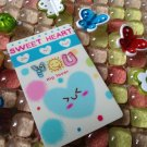 Credit Card size stickers - stickers kingdom - love you sweet heart