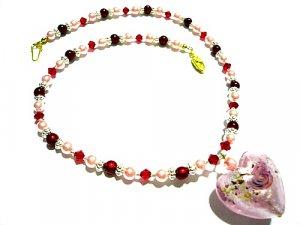Ashton Lampwork Necklace