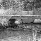 8x10 Photo ~ Black & White #002 Irrigation and Bridge