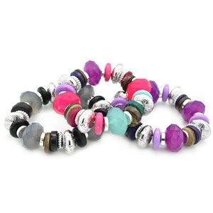 One child's stretchy bracelet- choose color