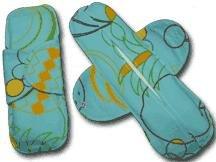 Orchard Blue cotton cloth menstrual pad
