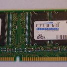 Crucial Technology CT8M64S4D8E, 2 X 64 MB memory (2 pack)