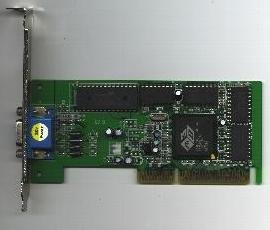 8M ATI Rage Pro Turbo AGP 2X video card