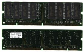 64MB SDRAM 168 PINs PC100-322-620