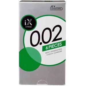 Free shipping Okamoto Jex Polyurethane Condoms 6pcs thick 0.02mm made in japan