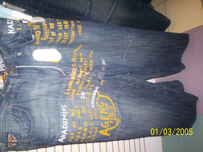 Mens Akademik Jeans