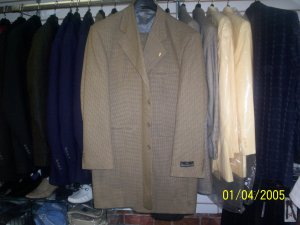 Hunter &Chocalate houndstooth Stacy Adams 2 peice Suit