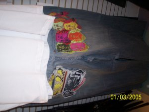 Hood Rich Jeans Benjamin Grey