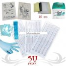 Tattoo Supply Transfer Paper Skin and needles