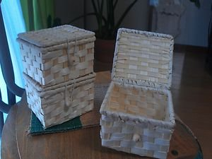 BAMBOO MADE BOX WITH LID GREAT FOR ROOM ORGANIZATION AND DECORATION