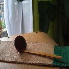 A PAIR OF JAPANESE TRADITIONAL RAMEN SOUP SPOON NATURAL  CONCEPT