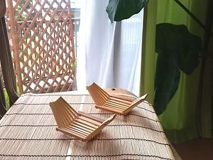 JAPANESE TRADITIONAL BAMBOO PLATE NATURAL  CONCEPT