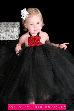 4354d2dd98e4 The LITTLE black dress | baby girls tutu dress [ankle length]