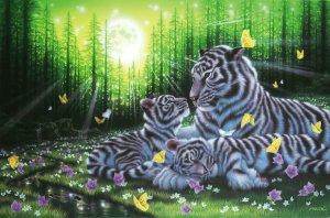 Japan Jigsaw Puzzle - Peace of mind by Fantasy artist by Kentaro Nishino Shipping Worldwide