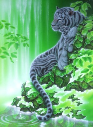 Japan Jigsaw Puzzle - Always by your side by Fantasy artist by Kentaro Nishino Shipping Worldwide