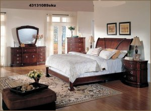 DESIGNS S RETROSPECT Sleigh Bedroom Set - Fairmont designs bedroom sets
