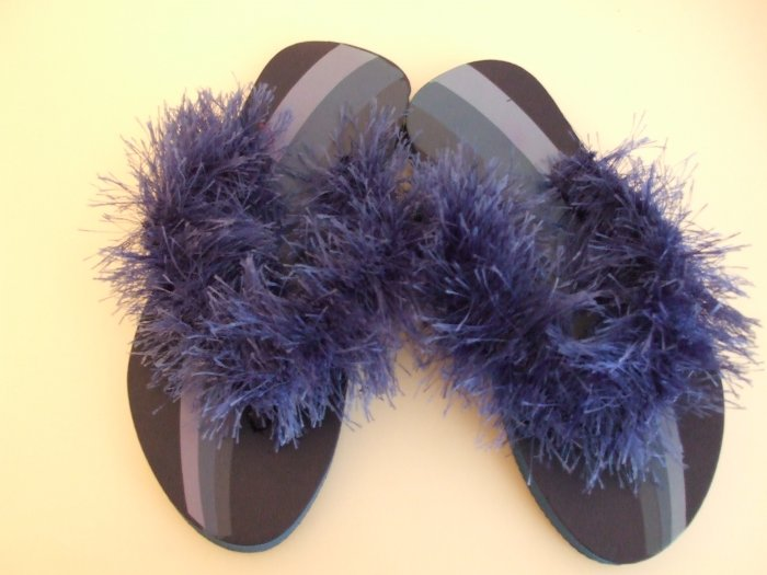 Kids Blue Flip Flops