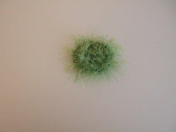 Lime Green Scrunchie