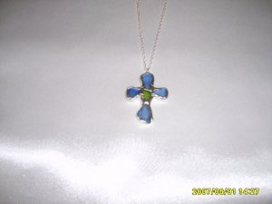 Cross Pendant on S/S Chain