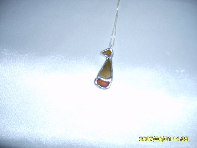 Sailboat Pendant on S/S Chain