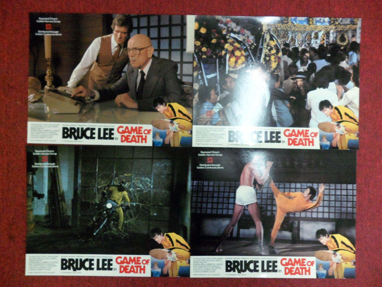 Bruce Lee Game of Death Lobby Cards Golden Harvest