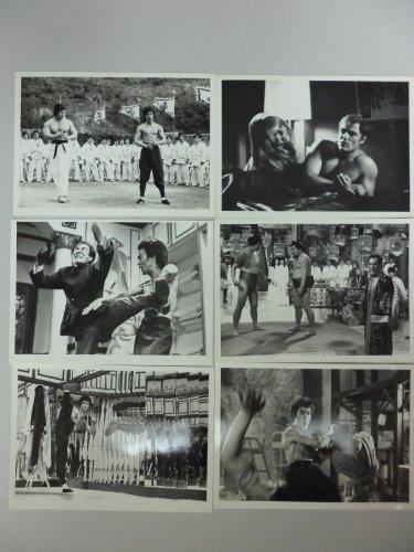 Bruce Lee Enter the Dragon Golden Harvest RARE B&W photos