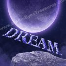 Dream Fantasy Sky Inspirational Printable Digital File Card