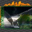 Imagination Eagle Inspirational Printable Digital File Card