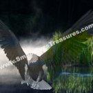 Fantasy Eagle Digital Printable Animal Photo 5x7