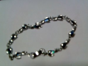 Silver Saphhire Bracelet