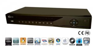 IC REALTIME DVR-EDGE4 4CH CCTV 500 GB DVR NEW