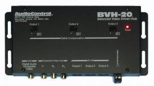 AUDIOCONTROL BVH20 COMPONENT VIDEO/DIGITAL AUDIO DRIVER HUB NEW