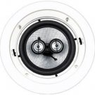 "EARTHQUAKE CM6S 6"" IN-CEILING DUAL SWIVEL TWEETER FIBER CONE NEW"