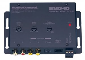 AUDIOCONTROL BVD10 BALANCED LINE AUDIO/VIDEO DRIVER NEW