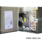 IC REALTIME PWR16DC8A 16CH REGULATED UL 12 VDC 8 AMP NEW