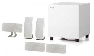 Jamo 5.1 Speaker Package With 200W Peak Handling - White A200HCS5W