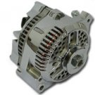 Chrome Ford 200 Amp 1 Wire 3G Large Case Alternator